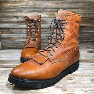 Durango Packer Ranch TobacO Western Boots Men 13
